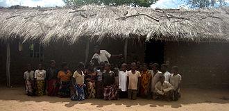 Education in Mozambique - Image: Mozambique school