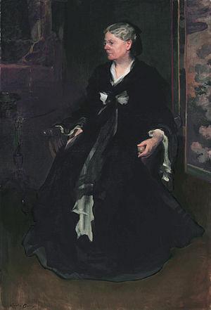 Albion P. Howe - Mrs. Elizabeth M. Howe (Cecilia Beaux, 1903)