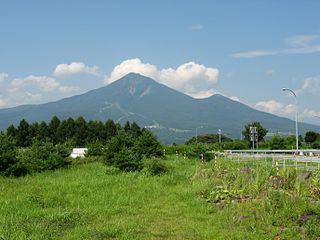 Bandai, Fukushima Town in Tōhoku, Japan