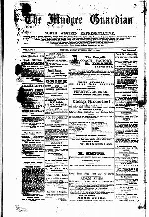 Mudgee Guardian and Gulgong Advertiser - Mudgee Guardian, 5 May, 1890