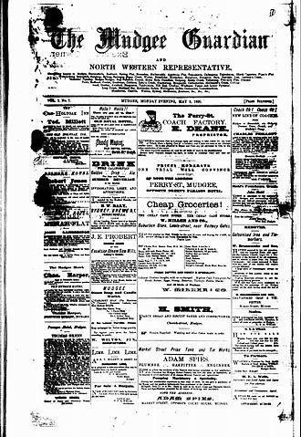 Mudgee Guardian and Gulgong Advertiser - Mudgee Guardian, 5 May, 1890