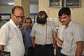 Muhammad Muhiuddin Khan Experiencing Virtual Reality - NMST Delegates Visit NCSM - Kolkata 2017-06-19 2187.JPG