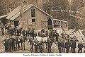 Mules and drivers at Renton Mine, Renton, ca 1915 (MOHAI 761).jpg