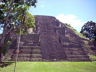 Mundo Perdido, Tikal architectural complexes at the ancient Maya city of Tikal in Guatemala