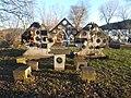 Municipal cemetery, urns wall and furnitures, 2019 Isaszeg.jpg