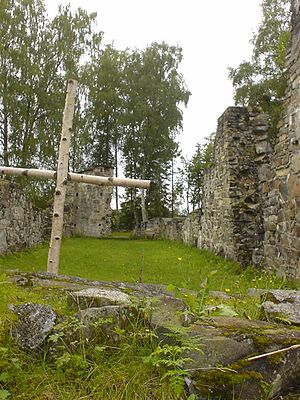 Munkeby Abbey - Munkeby Abbey ruins