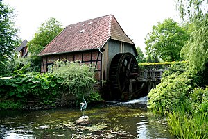 Munster, Lower Saxony - Water mill in Munster