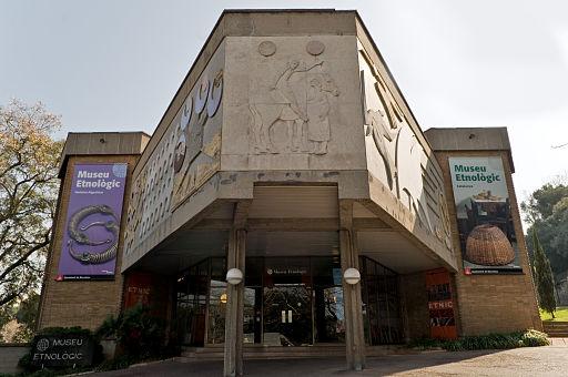 Museu Etnològic de Barcelona Façana