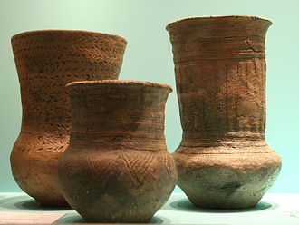 Corded Ware culture - Protruding-Foot Beaker culture (PFB), subset of the Single Grave culture.