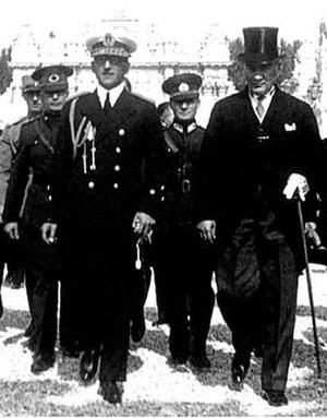 Serbia–Turkey relations - Mustafa Kemal Atatürk and King Alexander of Yugoslavia 1933.