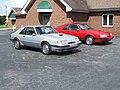 My 1986 Mustang SVO's.JPG