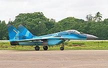 Burma-Military-Myanmar Air Force MiG-29 MRD