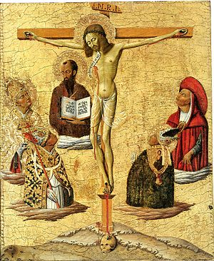 Matteo di Giovanni - Mystical Crucifixion by Matteo di Giovanni, Princeton University Art Museum, 1450