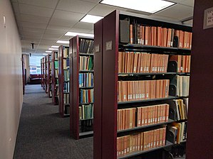 NOAA Central Library - Image: NOAA Central Library Stacks 3