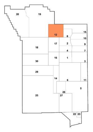 Rainier Mesa - Area 12 within the Nevada National Security Site