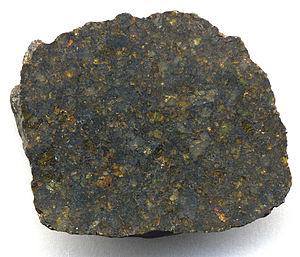 Ureilite - NWA 4231 meteorite, urelite.