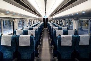 Meitetsu 2200 series - Image: Nagoya Railroad Series 2200 Cabin 01