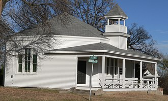 National Register of Historic Places listings in Franklin County, Nebraska - Image: Naponee Heritage Center 2