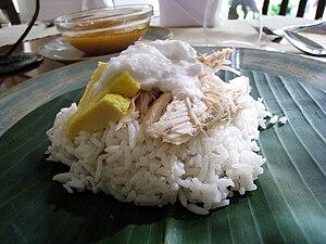 Coconut rice - Image: Nasi Liwet Solo