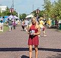 Natalie Kalibat at Redskins camp.jpg