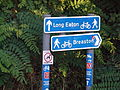 National Cycle Network at the Erewash Canal-Derby Canal junction.JPG