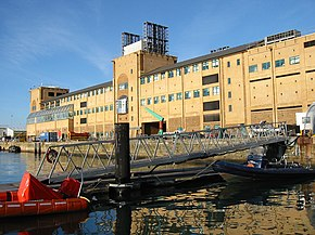 National Oceanography Centre Southampton UK seen from waterfront.jpg