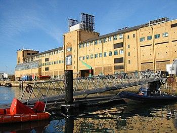 Il Centro Oceanografico Nazionale di Southampton (NOCS).