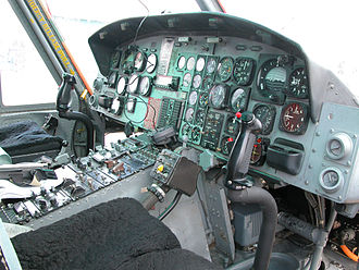 Bell UH-1N Twin Huey - U.S. Navy HH-1N cockpit