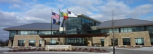 360 Architecture - Church of the Nazarene headquarters in Lenexa