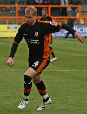 Neal Bishop - Bishop playing for Barnet in 2008