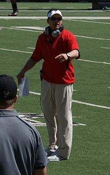 Neal Brown 2011 Texas Tech Red Raiders Spring Game.jpg