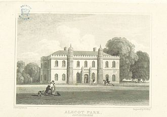 Atherstone on Stour - Alscot Park in 1818