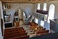Neenstetten Ulrichskirche Kirchenschiff und Altarraum von der Westempore 2020 08 20.jpg