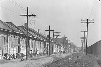 Tremé - 'New Orleans Negro street' 1935