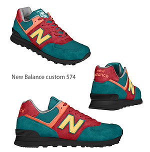 New Balance - New Balance custom 574 shoe
