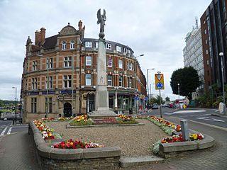 New Barnet Human settlement in England