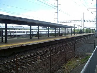 New Carrollton station - Amtrak/MARC platform