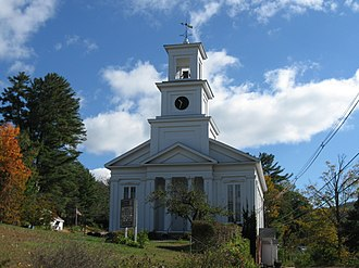 New Hampton, New Hampshire - Image: New Hampton Community Church