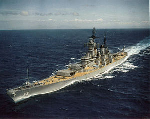 New Jersey en route to Vietnam, 1968