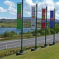 New banners at Aros - geograph.org.uk - 1315702.jpg