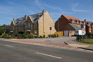 English: New housing estate in Downham Market ...