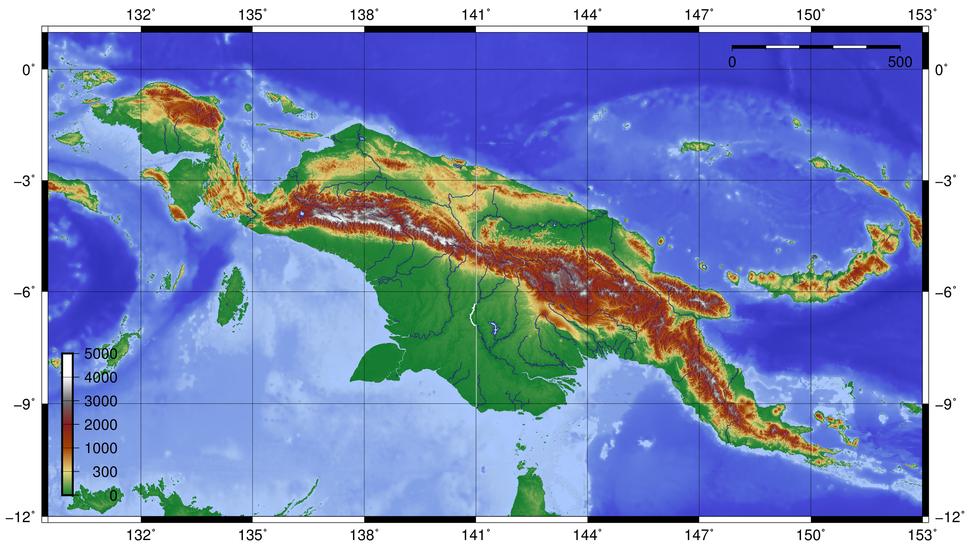 Newguinea topo