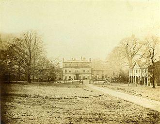 Newland with Woodhouse Moor - Newland Hall, built ca. 1740, demolished 1917.