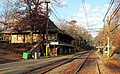 Newton Highlands station, December 2015.JPG