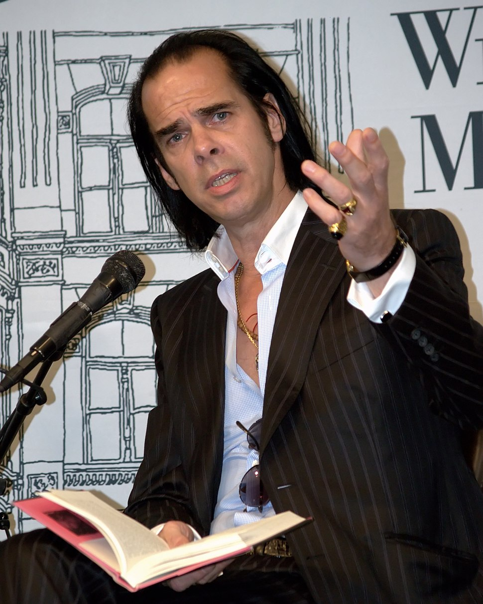 Nick Cave in New York City 2009 portrait 2