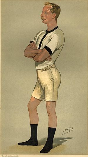 "Guy Nickalls - Vanity Fair ""Spy"" caricature from 1889"