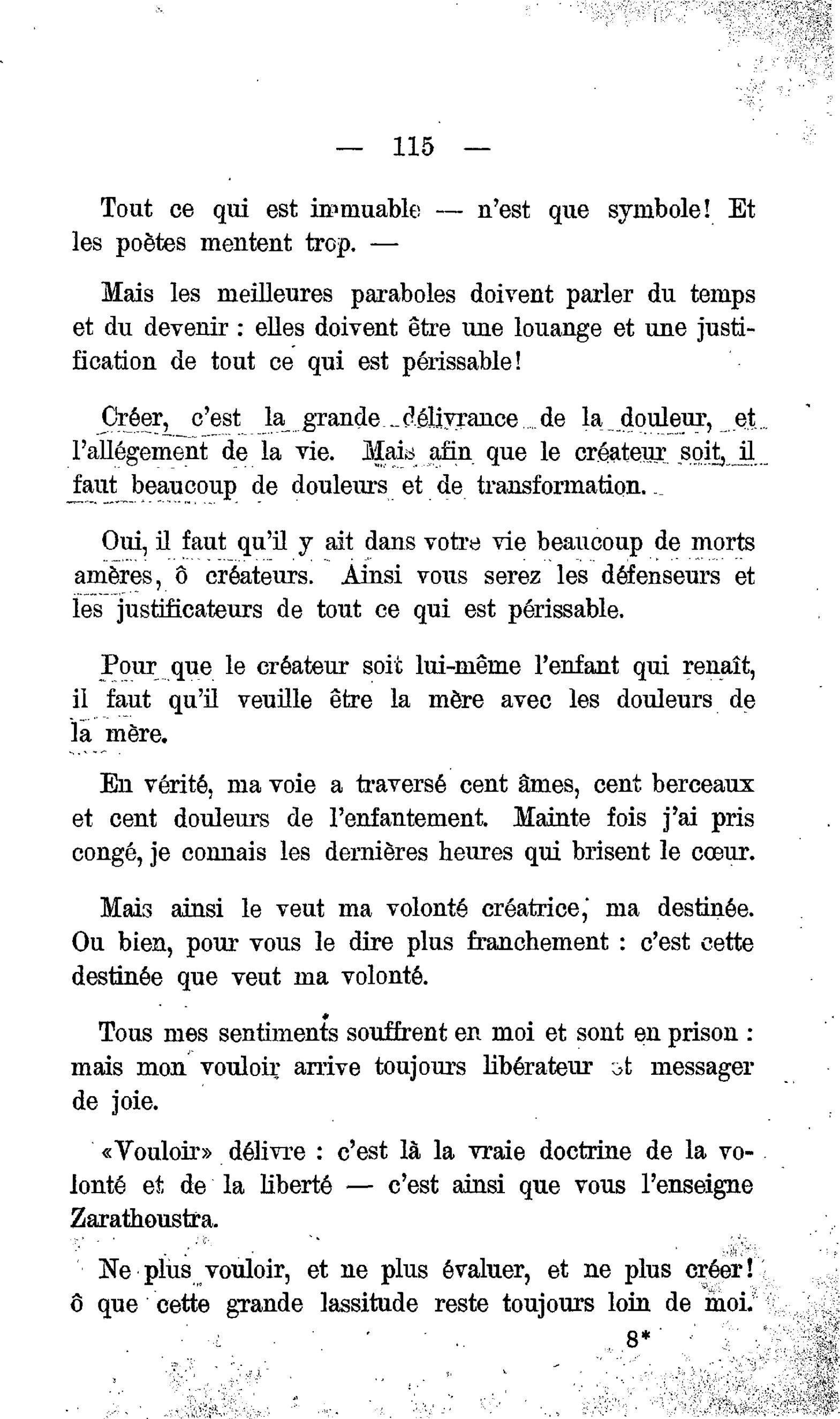 AINSI MUSIQUE ZARATHOUSTRA TÉLÉCHARGER GRATUITEMENT PARLAIT