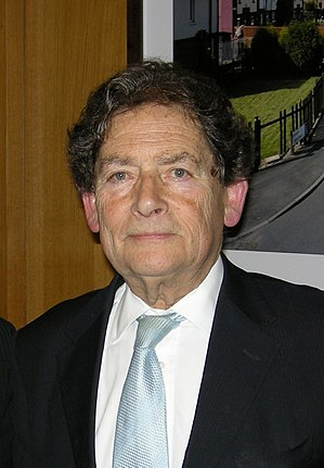 English: Nigel Lawson in Portcullis House