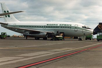 Nigeria Airways (5N-ANC), Dublin, February 1993 (01).jpg