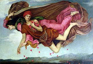 painting by Evelyn De Morgan